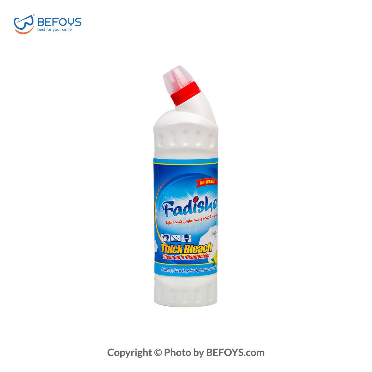 مایع سفیدکننده و پاککننده غلیظ بدون اسانس