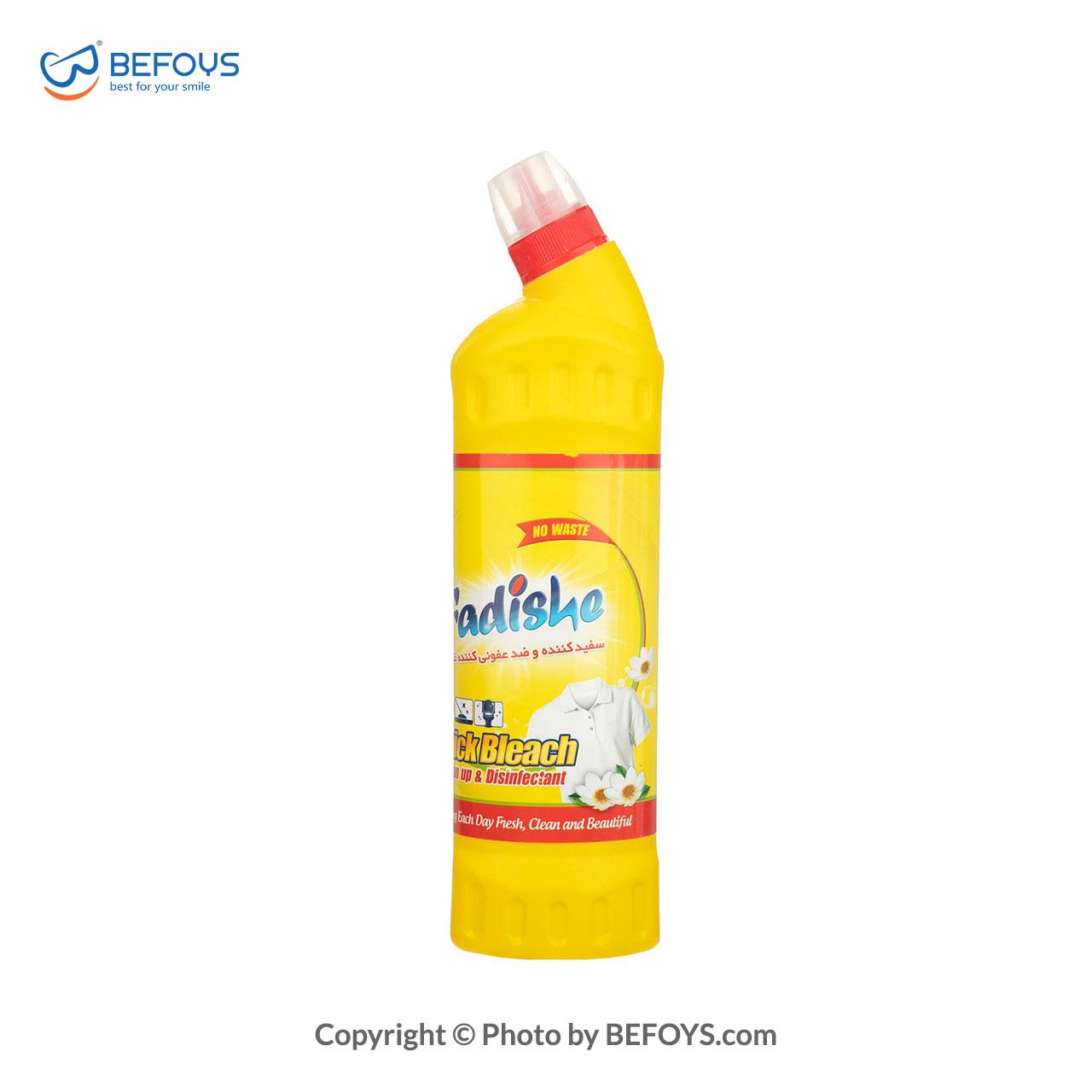 مایع سفید کننده و ضدعفونی کننده فدیشه مدل 750flowers میلی لیتری (1)