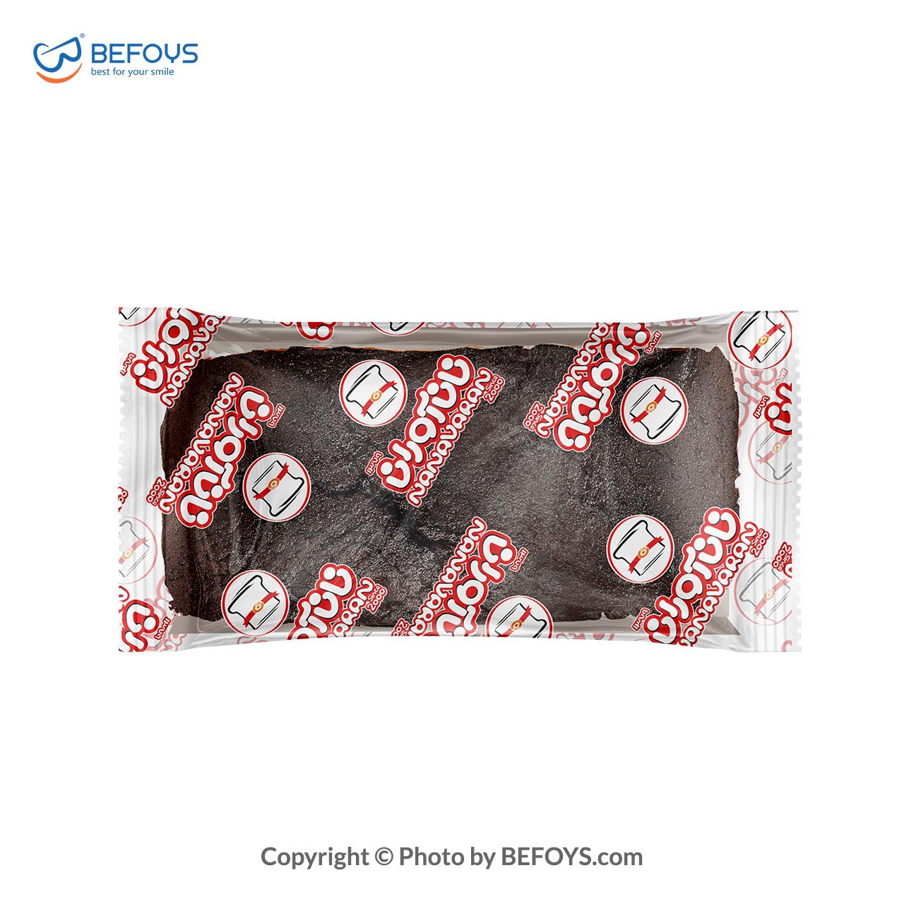 آرتین کیک شکلات کارتنی  نان آوران 18 بسته ای 185 گرمی