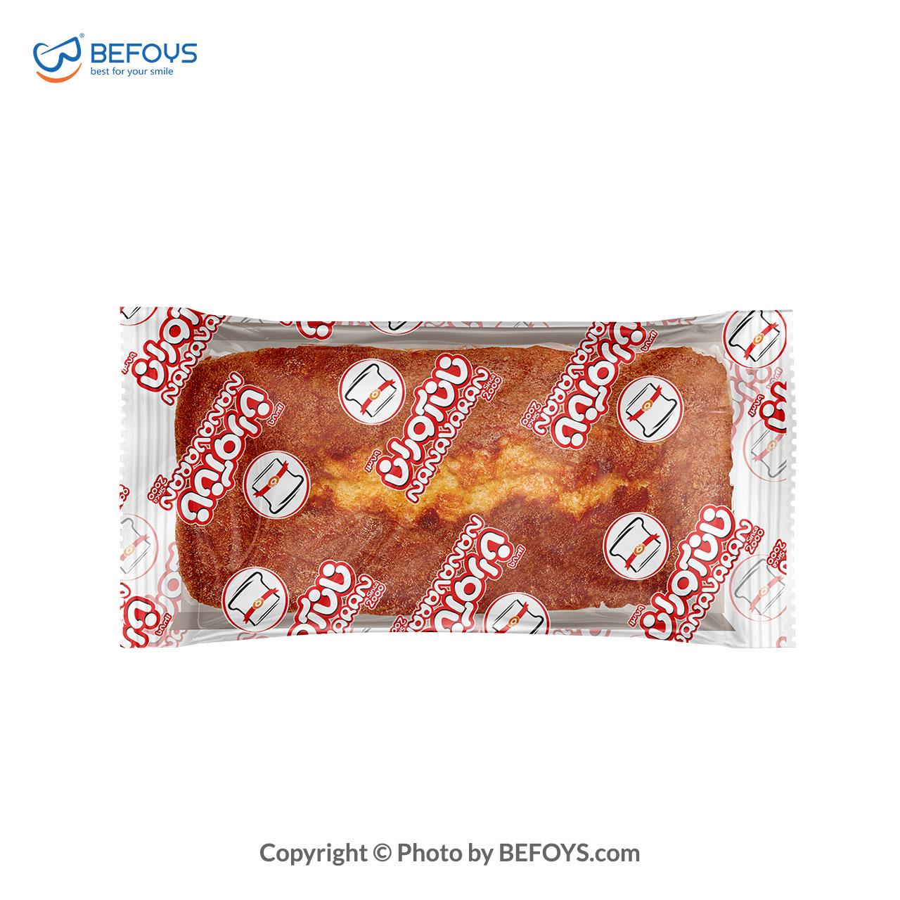 آرتین کیک وانیل کارتنی  نان آوران 18 بسته ای 185 گرمی