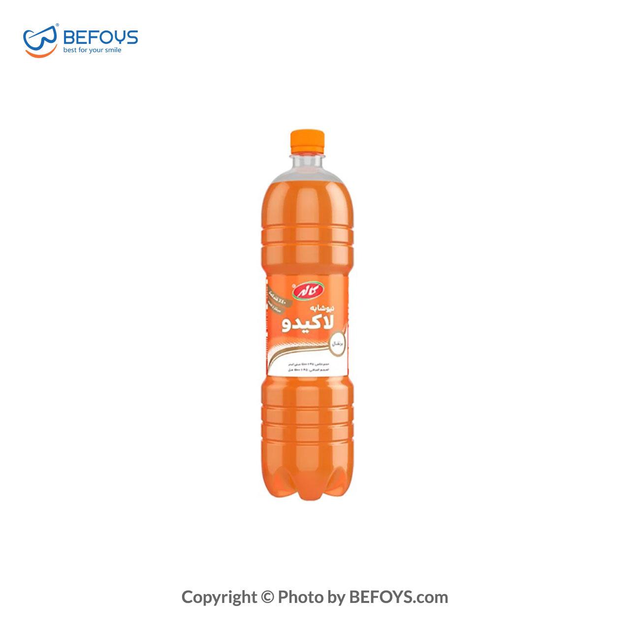 نیوشابه لاکیدو پرتقال 1.5 لیتری